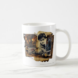 Harry Potter Collage 7 Classic White Coffee Mug