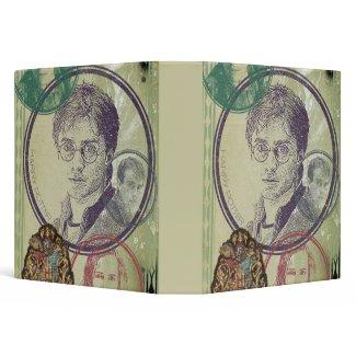 Harry Potter Collage 9 binder
