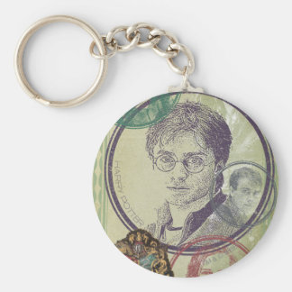 Harry Potter Collage 9 Keychain