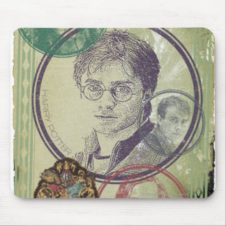 Harry Potter Collage 9 Mouse Pad