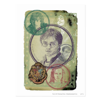 Harry Potter Collage 9 Post Card
