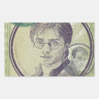 Harry Potter Collage 9 Rectangular Sticker