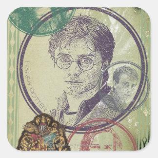 Harry Potter Collage 9 Sticker