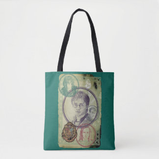 Harry Potter Collage 9 Tote Bag