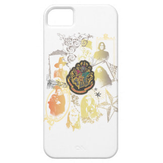 Harry Potter | Colorful Hogwarts Crest iPhone SE/5/5s Case