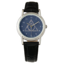 Harry Potter | Deathly Hallows Watercolor Watch