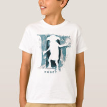 Harry Potter   Dobby Character Watercolor T-Shirt