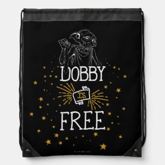 Harry Potter | Dobby Is Free Drawstring Backpack