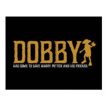 Harry Potter   Dobby Save Harry Potter Postcard