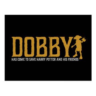Harry Potter | Dobby Save Harry Potter Postcard