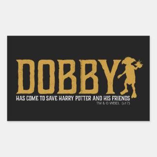 Harry Potter | Dobby Save Harry Potter Rectangular Sticker