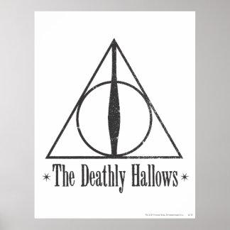 Harry Potter el | el mortal santifica el emblema Póster