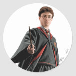 Harry Potter en el listo Pegatina Redonda