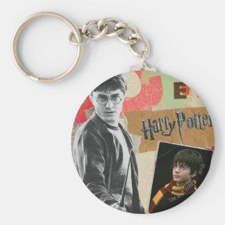 Harry Potter entonces y ahora Llaveros Personalizados