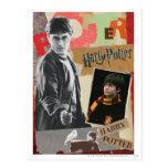 Harry Potter entonces y ahora Tarjetas Postales