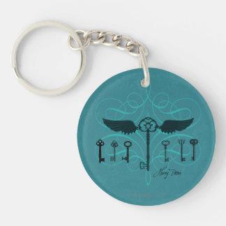 HARRY POTTER™ Flying Keys Double-Sided Round Acrylic Keychain