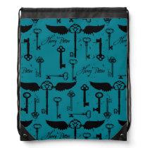 HARRY POTTER™ Flying Keys Pattern Drawstring Bag