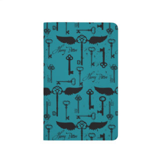 HARRY POTTER™ Flying Keys Pattern Journal