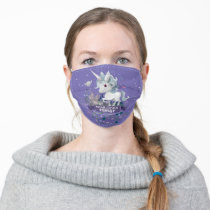 Harry Potter | Forbidden Forest Unicorn Graphic Adult Cloth Face Mask