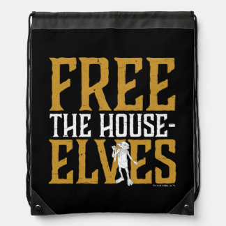 Harry Potter | Free The House Elves Drawstring Backpack