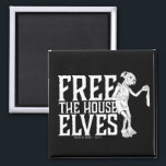 """Harry Potter   Free The House Elves Magnet<br><div class=""""desc"""">Let everyone know you want to free the house elves with this Dobby inspired graphic.</div>"""