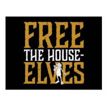 Harry Potter   Free The House Elves Postcard