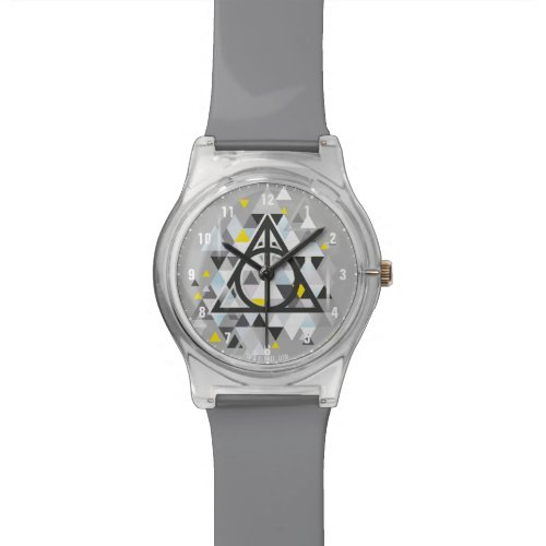 Harry Potter | Geometric Deathly Hallows Symbol Watch