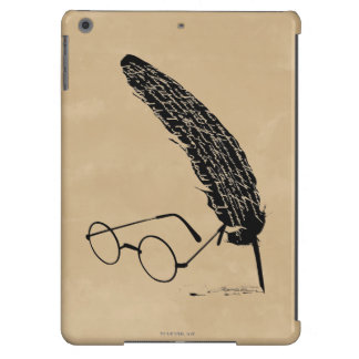 HARRY POTTER™ Glasses And Quill Cover For iPad Air