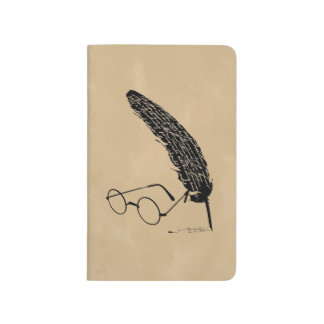 HARRY POTTER™ Glasses And Quill Journal