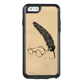 Harry Potter | Glasses And Quill OtterBox iPhone 6/6s Case