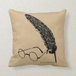HARRY POTTER™ Glasses And Quill Pillow
