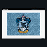 "Harry Potter  | Gothic Ravenclaw Crest 15&quot; Laptop Decal<br><div class=""desc"">Showcasing the iconic Ravenclaw crest, the wise raven and blue gothic background make this vintage style graphic a perfect companion for fans of the smash hit Harry Potter series! Only the cleverest witches and wizards are housed in Ravenclaw. This design offers the perfect opportunity to show the world which Hogwarts...</div>"