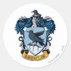 Harry Potter  | Gothic Ravenclaw Crest Classic Round Sticker