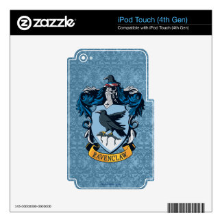 Harry Potter    Gothic Ravenclaw Crest iPod Touch 4G Decals