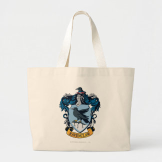 Harry Potter  | Gothic Ravenclaw Crest Large Tote Bag