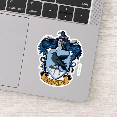 Harry Potter   Gothic Ravenclaw Crest Sticker