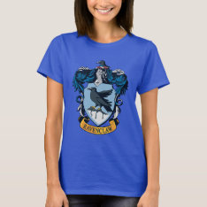 Harry Potter  | Gothic Ravenclaw Crest T-shirt at Zazzle