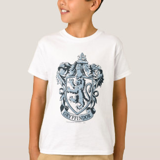 Harry Potter | Gryffindor Crest Blue T-Shirt