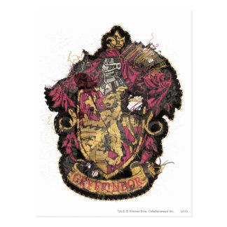 Harry Potter | Gryffindor Crest - Destroyed Postcard