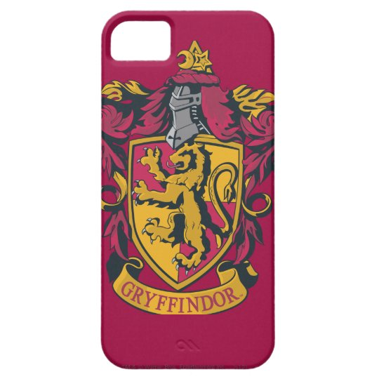 Harry Potter   Gryffindor Crest Gold and Red iPhone SE/5/5s Case