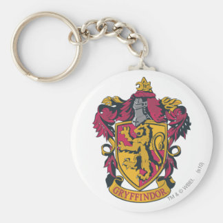 Harry Potter | Gryffindor Crest Gold and Red Keychain