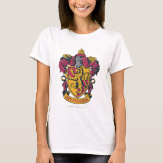 Harry Potter | Gryffindor Crest Gold and Red T-Shirt