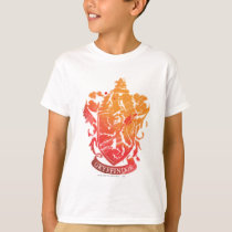 Harry Potter | Gryffindor Crest - Splattered T-Shirt