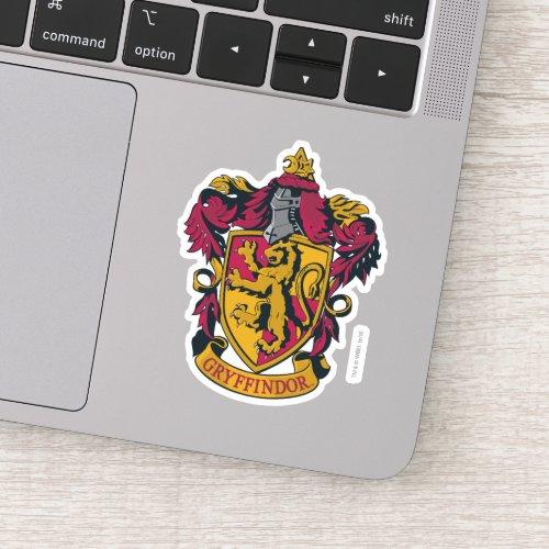 Harry Potter  Gryffindor House Crest Sticker