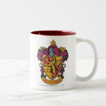 Harry Potter | Gryffindor House Crest Two-Tone Coffee Mug