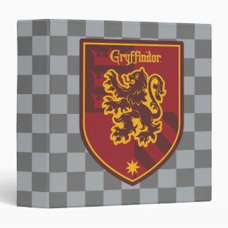 Harry Potter | Gryffindor House Pride Crest 3 Ring Binder