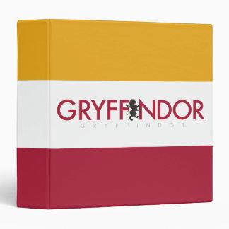 Harry Potter | Gryffindor House Pride Crest Binder