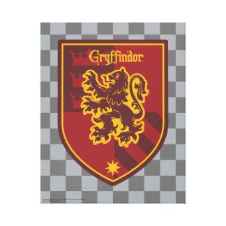 Harry Potter | Gryffindor House Pride Crest Canvas Print
