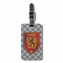 Harry Potter   Gryffindor House Pride Crest Luggage Tag