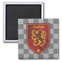 Harry Potter | Gryffindor House Pride Crest Magnet